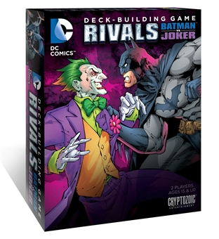 DC Comics Deck-Building Game: Rivals - Batman Vs The Joker (Cryptozoic Entertainment)