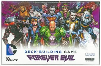 DC Comics Deck-Building Game: Forever Evil (Cryptozoic)