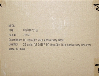 DC HeroClix 75th Anniversary Booster Case (20 Ct.)