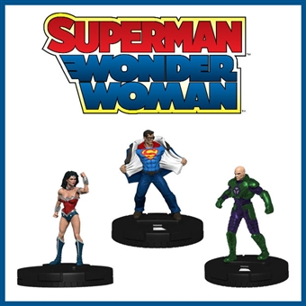 DC Comics HeroClix: Superman/Wonder Woman Booster Case (18 Ct.) (Presell)