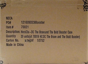 DC HeroClix The Brave and the Bold Booster Case (20 Ct.)