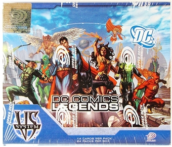Vs System DC Legends Booster Box