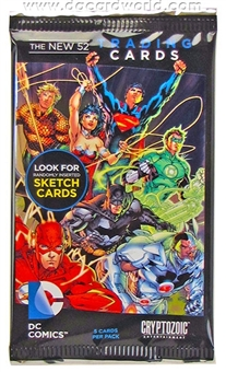 DC Comics: The New 52 Trading Cards Pack (Cryptozoic 2012)
