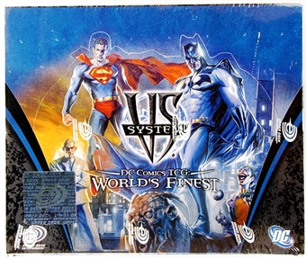 Vs System DC World's Finest Booster Box
