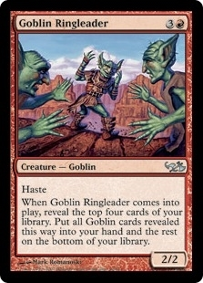 Magic the Gathering Duel Deck Single Goblin Ringleader - NEAR MINT (NM)