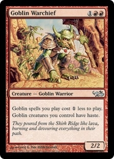 Magic the Gathering Duel Deck Single Goblin Warchief - NEAR MINT (NM)