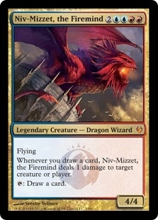 Magic the Gathering Duel Deck Single Niv-Mizzet, the Firemind Foil