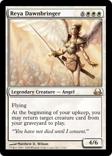 Magic the Gathering Duel Deck Single Reya Dawnbringer - NEAR MINT (NM)