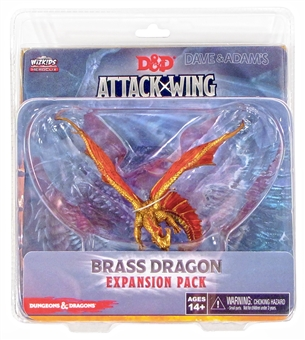 Dungeons & Dragons: Attack Wing - Brass Dragon Expansion Pack