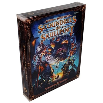 Dungeons & Dragons: Lords of Waterdeep - Scoundrels of Skullport Expansion Board Game (WOTC)