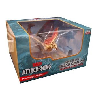 Dungeons & Dragons: Attack Wing - Brass Dragon Premium Game Piece Figure
