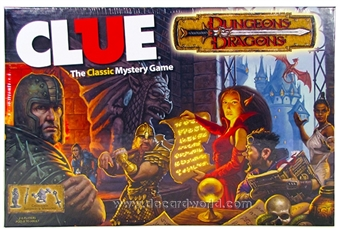Dungeons & Dragons Clue Game Box (USAopoly)