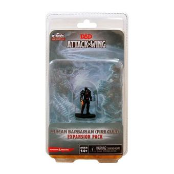 Dungeons & Dragons: Attack Wing - Human Barbarian (Fire Cult) Expansion Pack