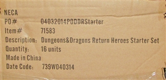 Dungeons & Dragons Fantasy Miniatures: Icons of the Realms Starter Set Case (16 Ct.)