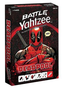 Battle Yahtzee: Marvel Deadpool (USAopoly)