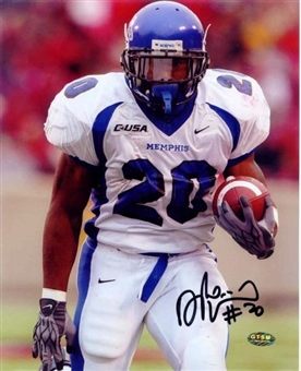 "DeAngelo Williams Autographed Memphis Tigers 8x10 Photo ""Away"""