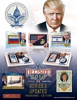 Decision 2016  Series 2 Updated Hobby 16-Box Case (Presell)