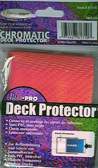 Ultra Pro Chromatic Red Deck Protectors 50 Count Pack