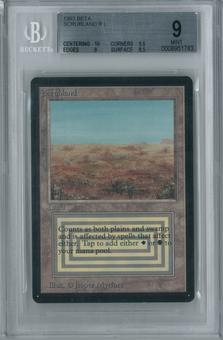 Magic the Gathering Beta Single Scrubland BGS 9.0 (10, 9.5, 9, 8.5)