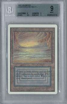 Magic the Gathering Unlimited Single Underground Sea BGS 9.0 (9, 9, 8.5, 9)