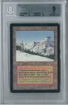 Magic the Gathering Beta Single Taiga BGS 9.0 (9, 9, 9, 9.5)