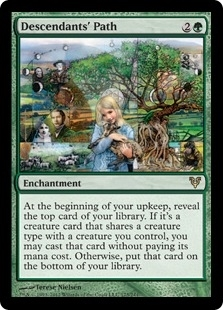 Magic the Gathering Avacyn Restored Single Descendants' Path Foil
