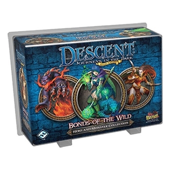 Descent 2nd Edition: Bonds of the Wild Hero and Monster Collection