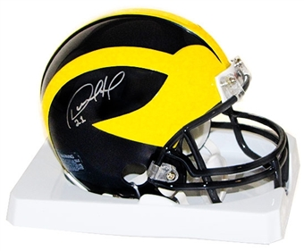 Desmond Howard Autographed University of Michigan Mini Helmet