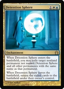 Magic the Gathering Return to Ravnica Single Detention Sphere UNPLAYED (NM/MT)