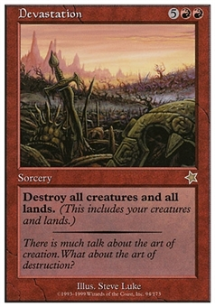 Magic the Gathering Starter Single Devastation - NEAR MINT (NM)