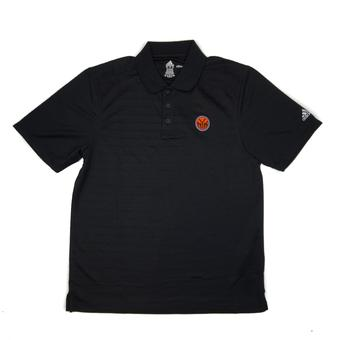 New York Knicks Adidas Black Climalite Performance Polo (Adult M)
