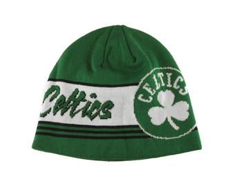 Boston Celtics Adidas NBA Green Cuffless Knit Hat (Adult One Size)