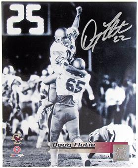 Doug Flutie Autographed Boston College 8x10 Football Photo