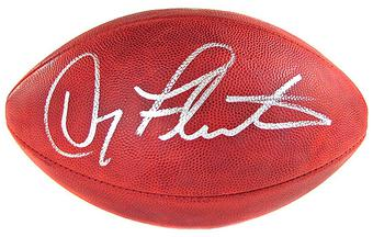 Doug Flutie Autographed Buffalo Bills Official Wilson NFL Game Football
