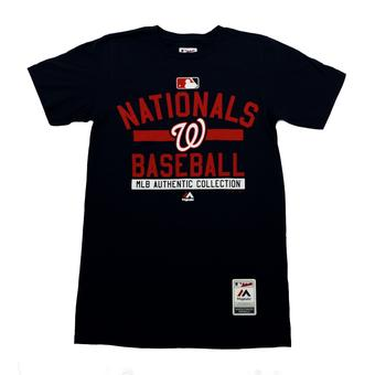 Washington Nationals Majestic Navy Team Property Tee Shirt (Adult XL)