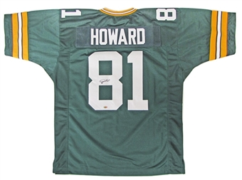 Desmond Howard Autographed Green Bay Packers Jersey (GTSM COA)