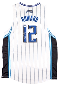 Dwight Howard Autographed Orlando Magic Authentic Adidas Basketball Jersey (PSA)