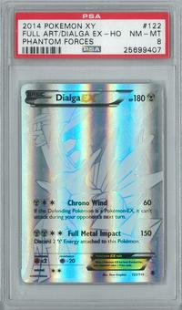Pokemon Phantom Forces Single Dialga 122/119 - PSA 8