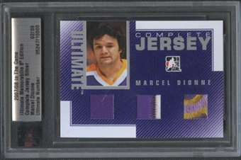 2007/08 ITG Ultimate 8th Marcel Dionne Complete Jersey #02/09