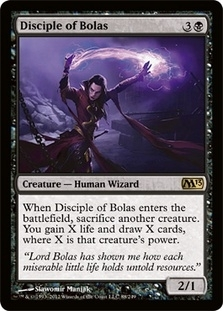 Magic the Gathering 2013 Single Disciple of Bolas Foil