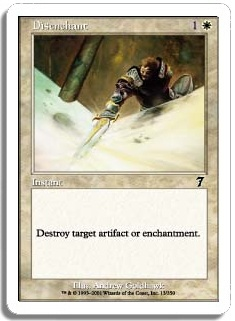 Magic the Gathering 7th Edition Single Disenchant FOIL