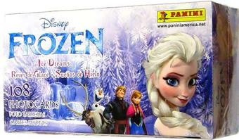 Disney Frozen Ice Dreams Photocard Collection Box (Panini 2014)