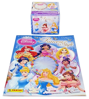 Panini Disney Princesses Style Stickers (50 PACKS & ALBUM)