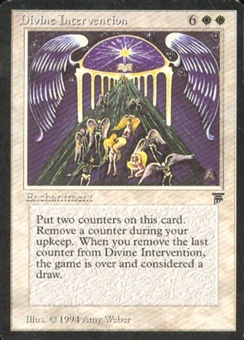 Magic the Gathering Legends Single Divine Intervention UNPLAYED (NM/MT)