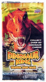 Upper Deck Dinosaur King Series 1 Booster Pack