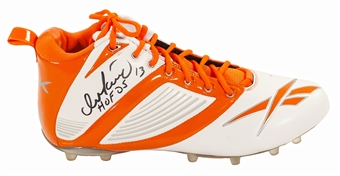 "Dan Marino Autographed Miami Dolphins Reebok Cleat w/ ""HOF 05"" Inscription (JSA)"