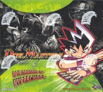 WOTC DuelMasters Epic Dragons of Hyperchaos Booster Box