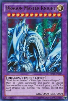 Yu-Gi-Oh Duelist Pack Kaiba Single Dragon Master Knight Ultra Rare DPKB - NEAR MINT (NM)