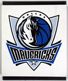 Dallas Mavericks 2004 NBA Draft Board Team Logo Panels