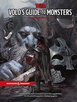 Dungeons and Dragons 5th Edition RPG: Volo's Guide to Monsters (WOTC)